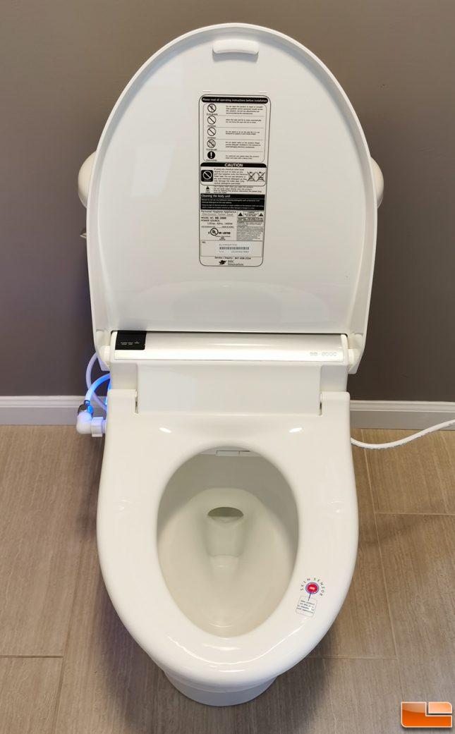 Bio Bidet BB2000 bidet toilet seat installation
