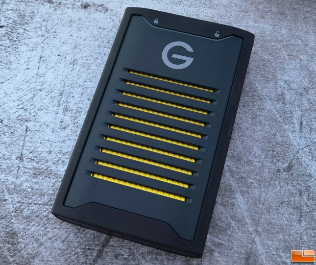 G-Technology ArmorLock Encrypted Portable NVMe SSD