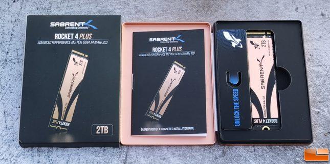 Sabrent Rocket 4 Plus NVMe SSD Retail Box
