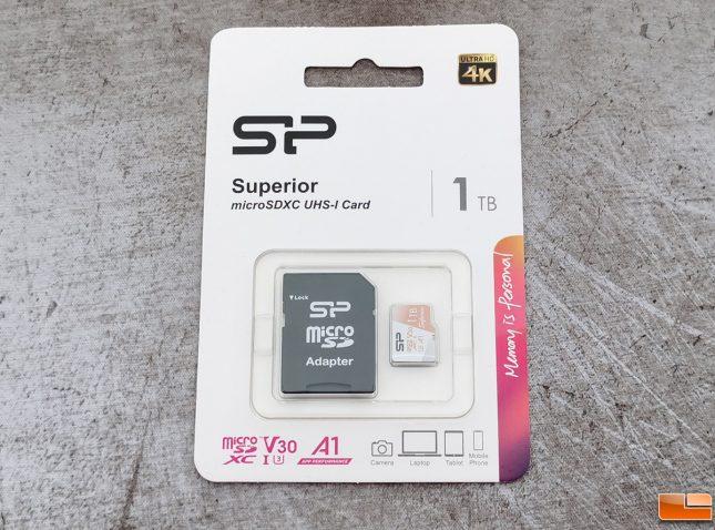 Silicon Power 1TB microSDXC Memory Card