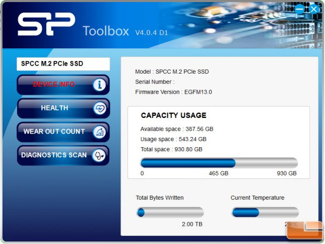 Silicon Power SSD Toolbox v4