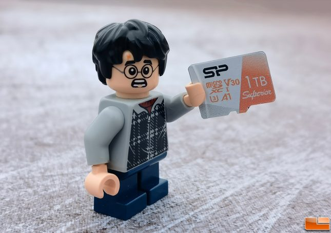 SiliconPower 1TB microSDXC Card With Harry Potter Lego