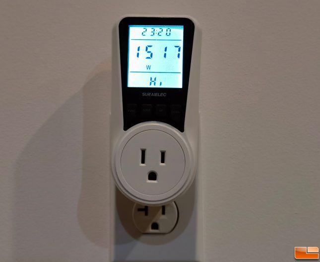 Suraielec energy watt meter upwma01a Testing