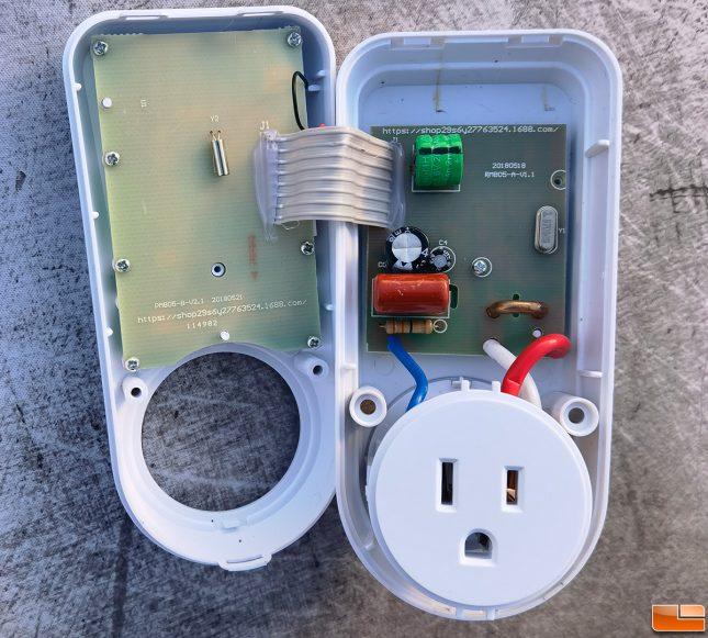 Suraielec energy watt meter upwma01a Inside