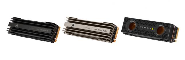 Corsair MP600 CORE NVMe SSDs
