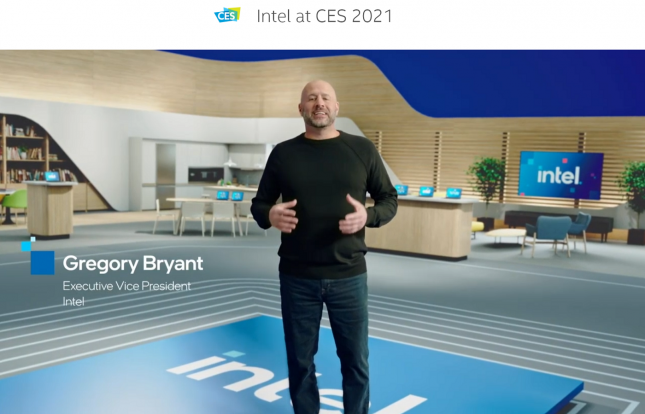 Gregory Bryant Intel CES 2021