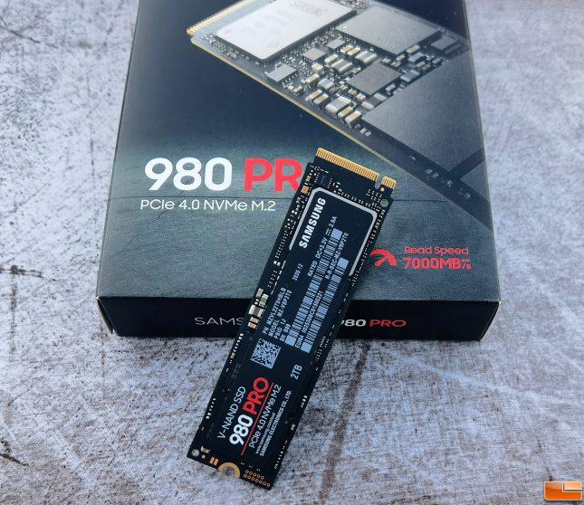 Samsung 980 Pro 2TB NVMe SSD