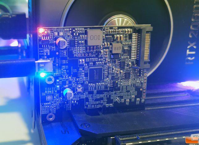ORICO PE20-1C USB 3.2 Expansion Card SATA Power