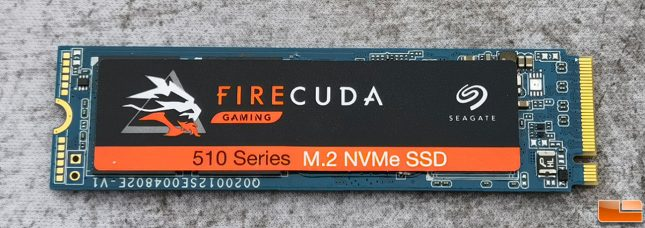 Seagate FireCuda Gaming 510 Series 1TB NVMe SSD