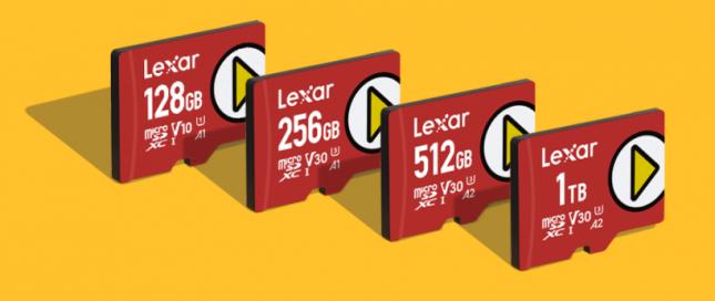 Lexar Play MicroSDXC Memory Cards