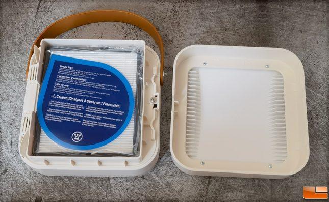 Westinghouse 1804 Portable Air Purifier HEPA Filter