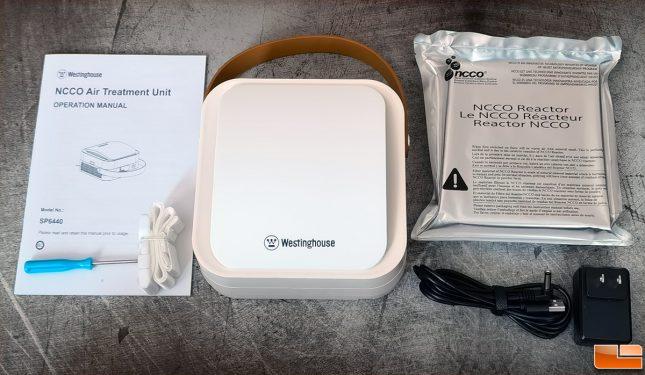 Westinghouse 1804 Portable Air Purifier Accessories