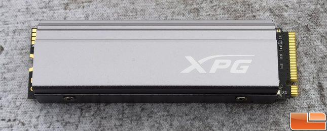 XPG GAMMIX S70 NVMe SSD Front