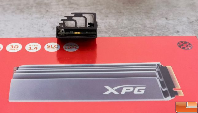 XPG GAMMIX S70 NVMe SSD Heatsink
