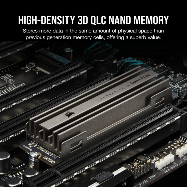 Corsair MP600 Core NVMe SSD with QLC NAND Flash