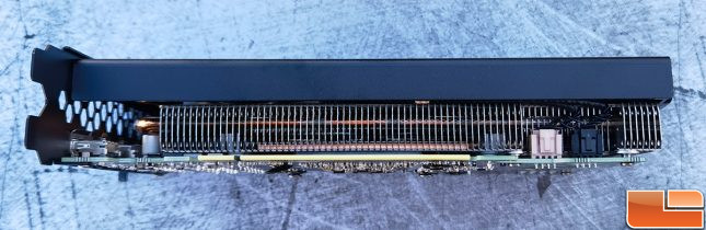 EVGA GeForce RTX 3060 Black Video Card Bottom