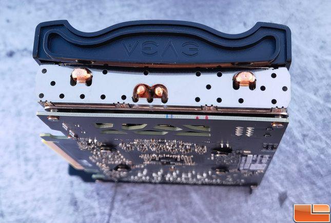 EVGA GeForce RTX 3060 Black Video Card Heatpipes