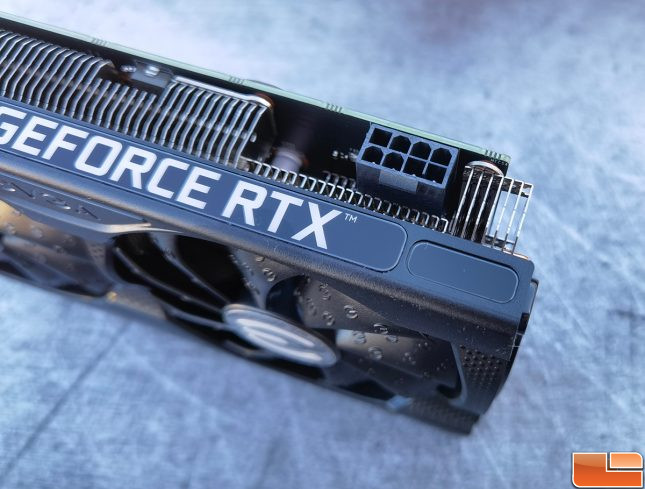 EVGA GeForce RTX 3060 Black Video Card 8-Pin Power Connector