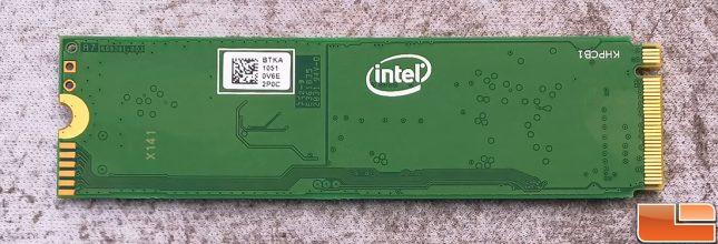 Intel SSD 670p Single-Sided PCB Back