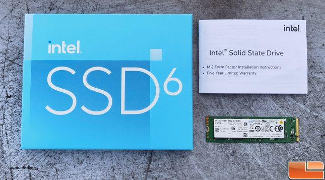 Intel SSD 670p Retail Packaging