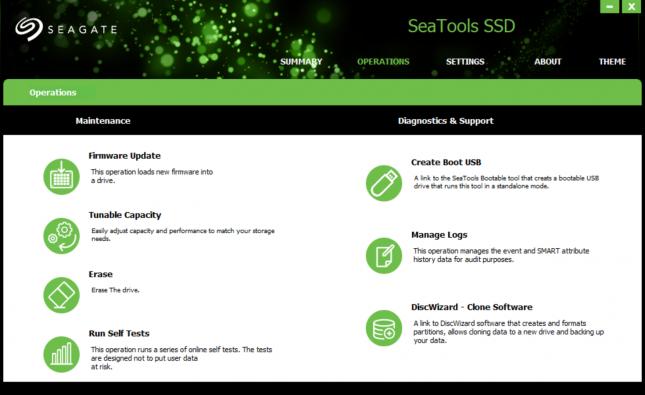Seagate SeaTools SSD