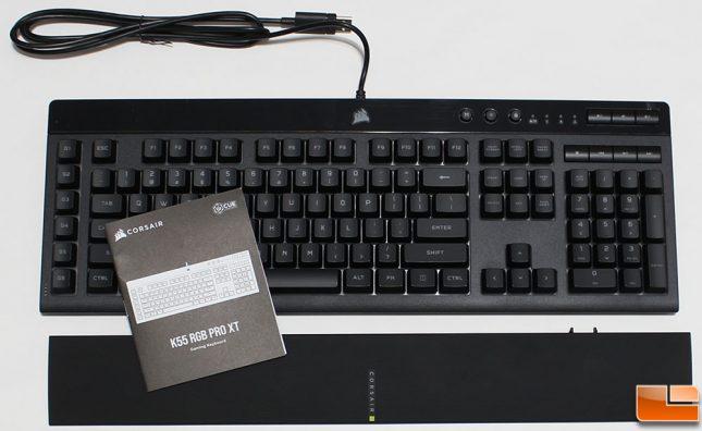 Corsair K55 RGB Pro XT Keyboard Accessories