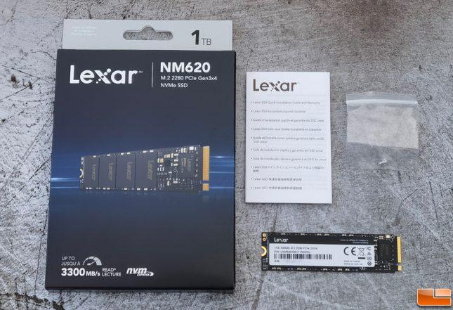 Lexar NM620 1TB NVMe SSD Accessories