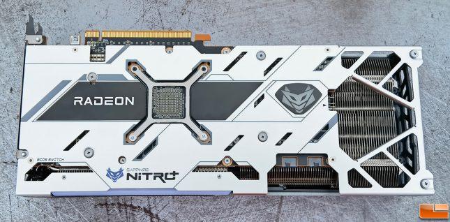 Sapphire Radeon RX 6700 XT Nitro+ Back