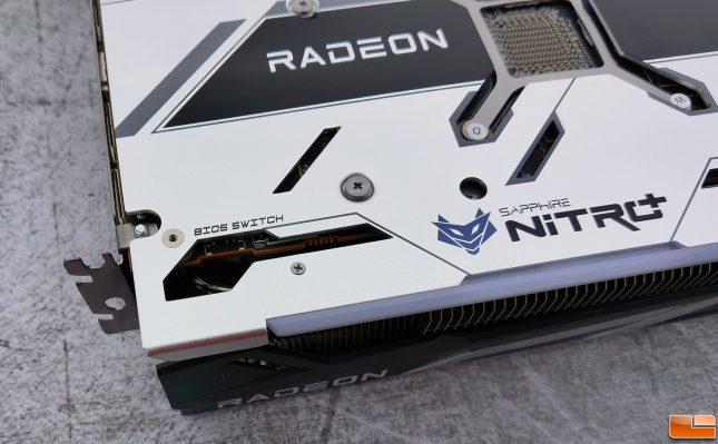 Sapphire Radeon RX 6700 XT Nitro+ BIOS Switch
