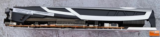 Sapphire Radeon RX 6700 XT Nitro+ Bottom