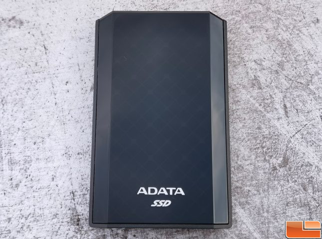 ADATA SE900G Portable NVMe SSD Front