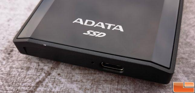 ADATA SE900G Portable NVMe SSD Metal Housing Chip