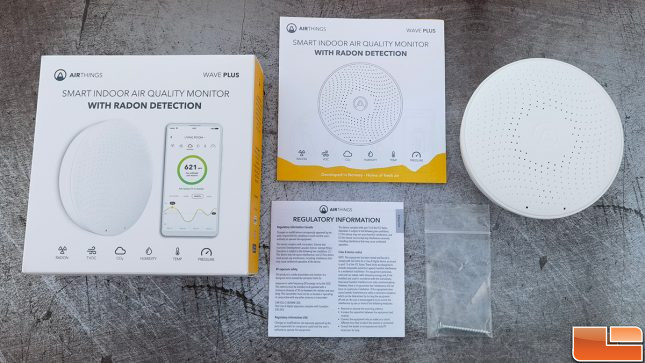 Airthings Wave Plus Air Monitor Accessories
