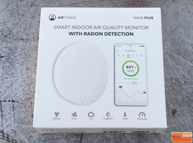 Airthings Wave Plus Air Quality Monitor