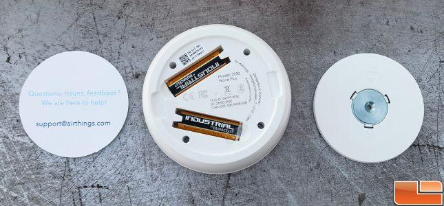 Airthings Wave Plus Air Monitor Batteries
