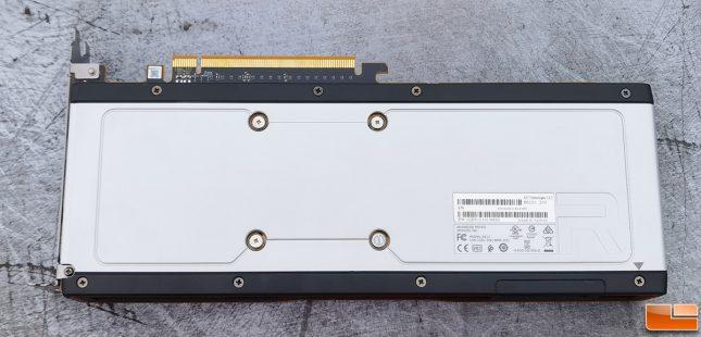 AMD Radeon RX 6700 XT Reference Card Back