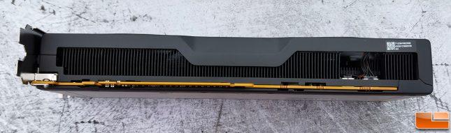 AMD Radeon RX 6700 XT Reference Card Bottom