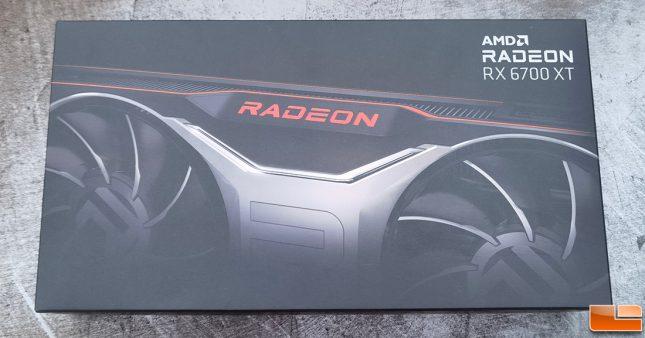 AMD Radeon RX 6700 XT Retail Box