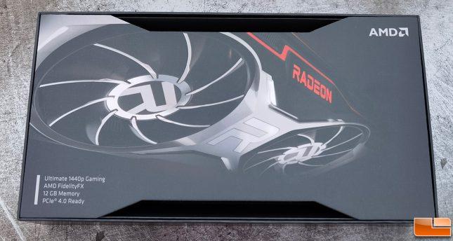 AMD Radeon RX 6700 XT Retail Box Slip Cover