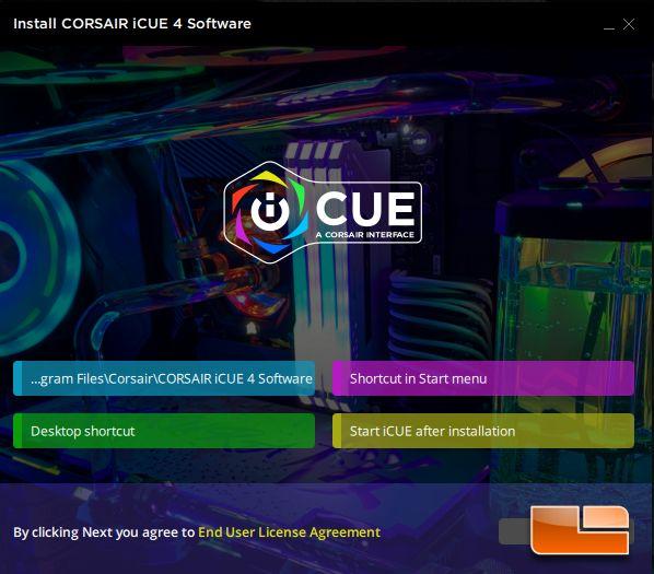 Corsair iCUE4 installer for K65 RGB Mini