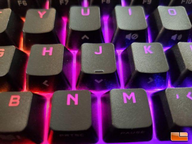 Corsair K65 RGB Mini - Secondary Key Functions