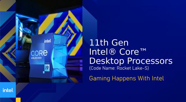 Intel Rocket Lake-S Desktop Processors