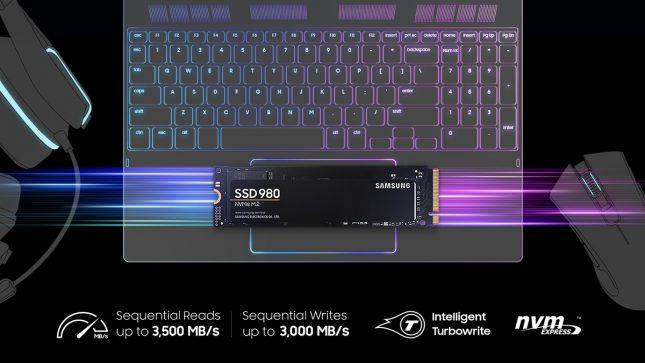 Samsung SSD 980 Banner