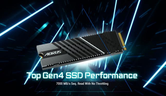 AORUS Gen4 7000s SSD