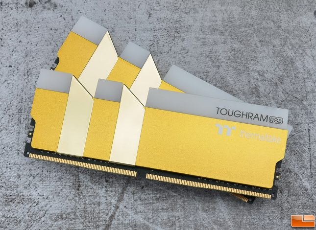 TOUGHRAM RGB Metallic Gold