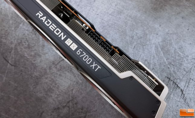 XFX Speedster MERC319 AMD Radeon RX 6700 XT Power Connectors