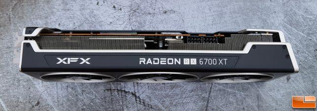 XFX Speedster MERC319 AMD Radeon RX 6700 XT Top