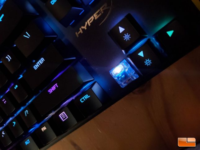 HyperX Alloy Origins - Vivid RGB Lighting