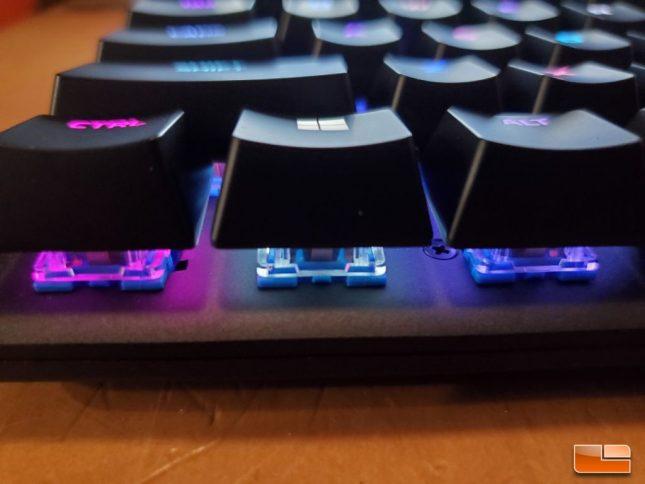 HyperX Alloy Origins - Floating Key Switch Design