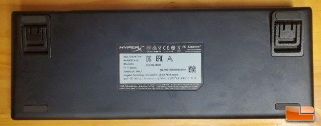 HyperX Alloy Origins Core - Bottom Aluminum Frame